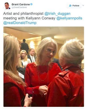 Blog 8 9 Trish Duggan Kellyanne Conway