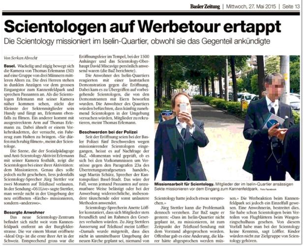 Blog Basel Basler Zeitung