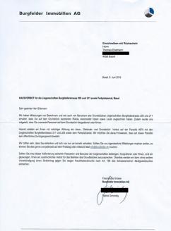 Blog Basel Hausverbot