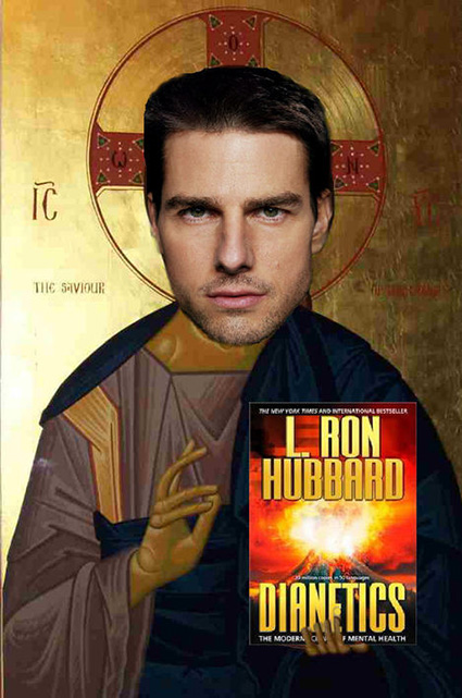 Cartoon Tom Cruise Jesus