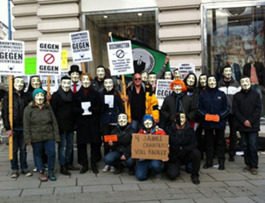 Blog Geheimdienst 10 Anonymous Demo