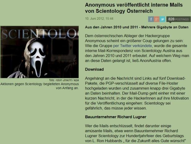 Blog Geheimdienst 10 Der Standard