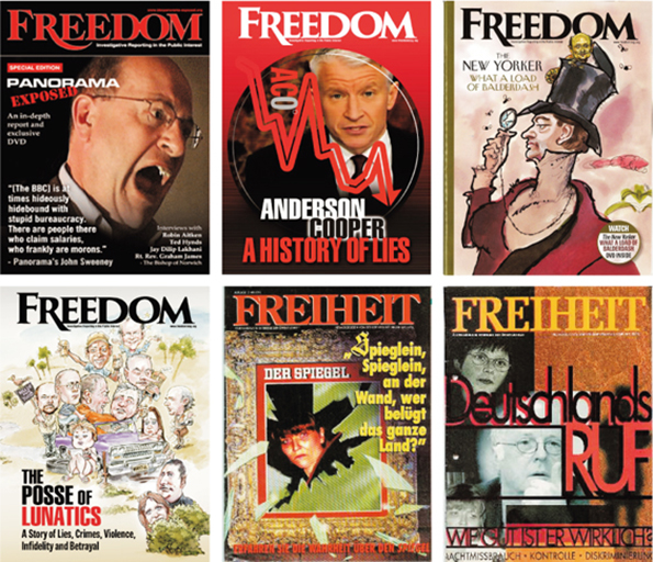 Blog Geheimdienst 10 Freedom Magazin Collage