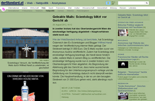 Blog Geheimdienst 11 Der Standard