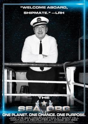 Blog Geheimdienst 3 L. Ron Hubbard Sea Org