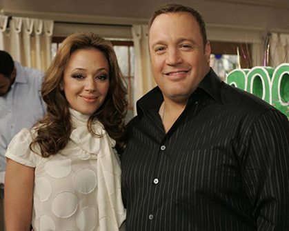 What_s going on 7 Leah Remini Kevin James