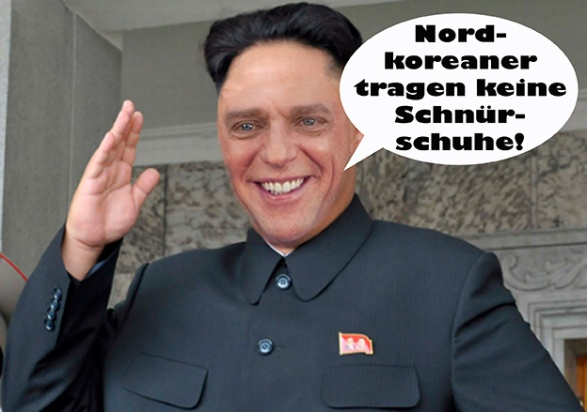 What's going on David Miscavige Nordkorea