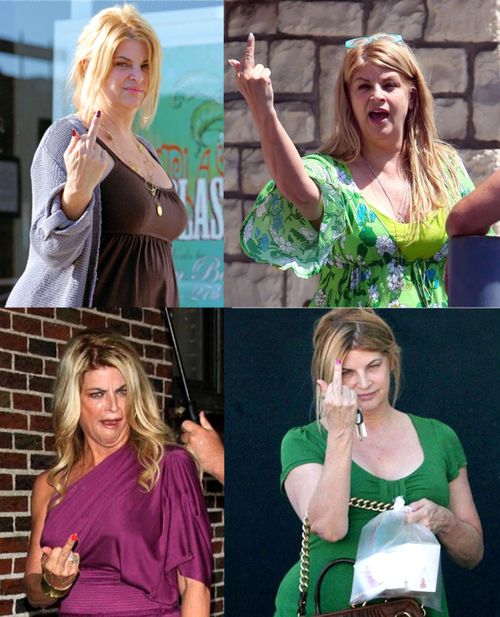 What's going on 10 Kirstie Alley