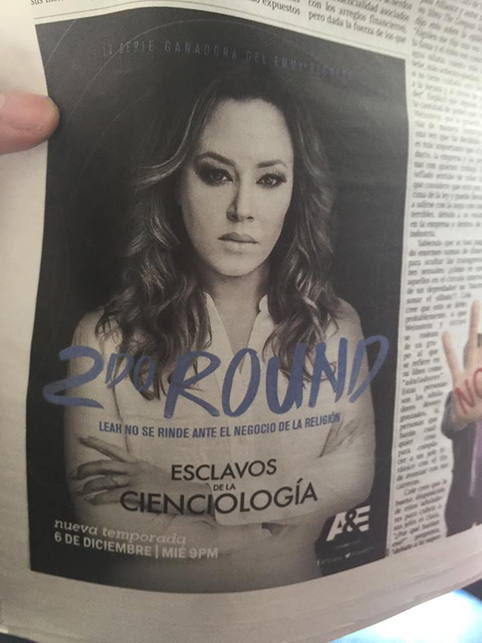 What's going on 14 LeahRemini Promotion Bogota
