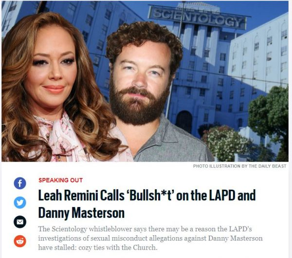 What's going on 14 Remini Masterson The Daily Beast