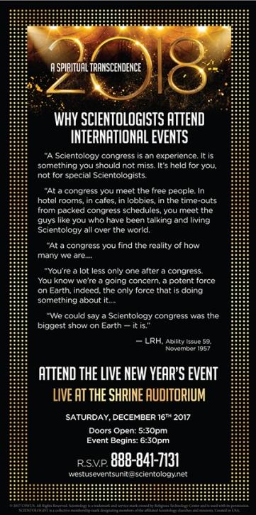 What's going on 16 Neujahrsveranstaltung